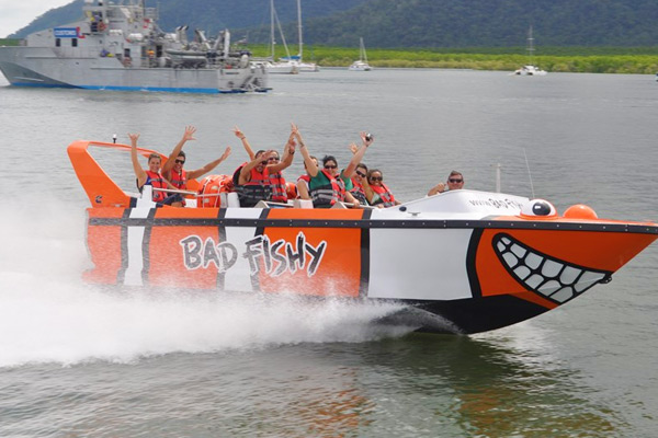 CAIRNS JET BOAT RIDE