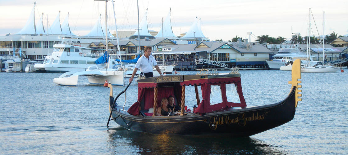 Gold Coast Romantic Gondola Cruises for Two